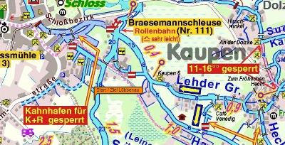 Startpunkt zum Paddeln beim Spreewaldmarathon in Lübbenau